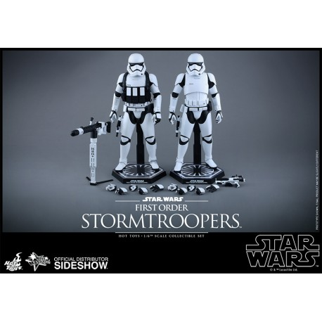First Order Stormtroopers Sixth Scale Figure Set by Hot Toys