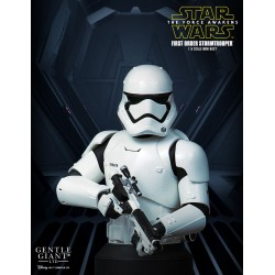 Star Wars Episode VII Busto 1/6 First Order Stormtrooper Deluxe MB