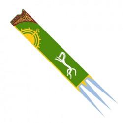 Bandera Pendón de Éomer