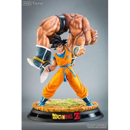 The Quiet Wrath of Son Goku. Goku vs Nappa / Tsume Art