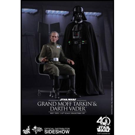 Episode IV Pack de 2 Figuras Movie Masterpiece 1/6 Vader & Tarkin