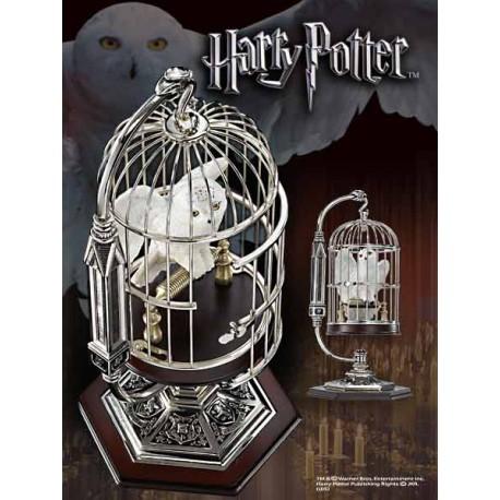 Harry Potter Miniatura Hedwig & Jaula