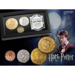 Harry Potter Réplica Set de Monedas El Banco Gringotts