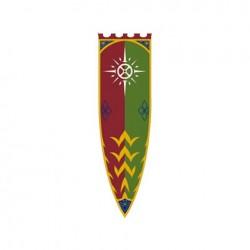 Bandera Estandarte de Rohan III