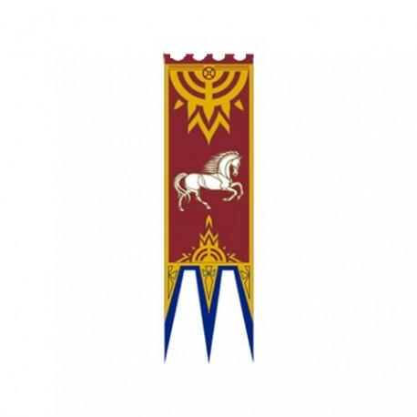 Bandera Estandarte de Rohan IV