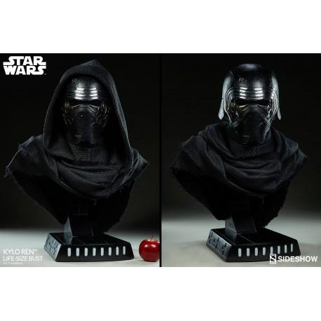 Kylo Ren Star Wars Busto tamaño real