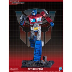 Optimus Prime Transformers Estatua Classic Scale