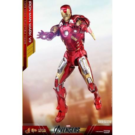 Iron Man Mark VII Diecast Marvel Los Vengadores