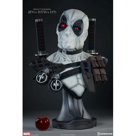 Deadpool X-Force Sideshow Exclusive Marvel Comics Busto