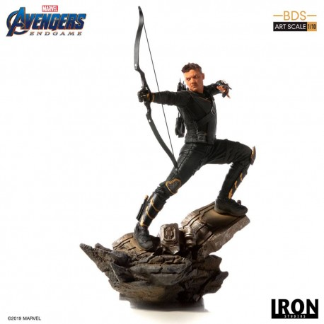 Hawkeye Vengadores Endgame Estatua BDS Art Scale 1/10