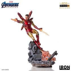 Iron Man Mark LXXXV Deluxe Version Vengadores Endgame Estatua BDS Art Scale 1/10