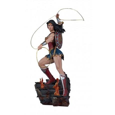 Wonder Woman Sideshow Exclusive DC Comics Estatua Premium