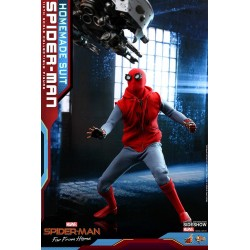 Spider-Man (Homemade Suit) Figura Movie Masterpiece 1/6