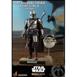 The Mandalorian & The Child Deluxe Star Wars The Mandalorian Pack de 2 Figuras