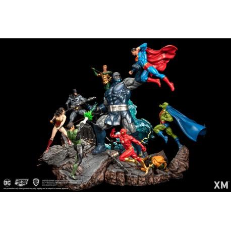 JLA vs Darkseid Ver A (Colour)