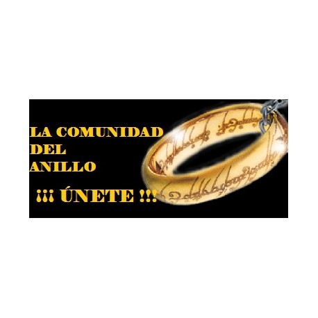 "ÚNETE A ""LA COMUNIDAD DEL ANILLO"" - TARJETA VIRTUAL"