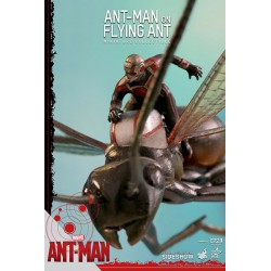 Compact Ant-Man on Flying Ant