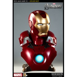 Los Vengadores Busto 1/1 Iron Man Mark VII