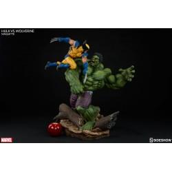 Marvel Maquette Hulk vs. Wolverine