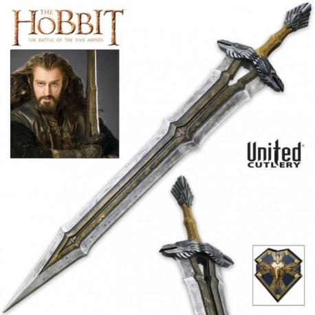 UC3106 Hobbit Regal Sword Thorin Oakenshield and Display