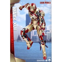 Iron Man 3 Figura QS Series 1/4 Iron Man Mark XLII