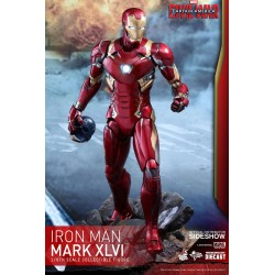 Captain America Civil War Figura Movie Masterpiece Diecast 1/6 Iron Man Mark XLVI