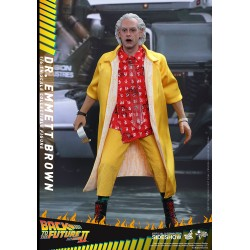 Regreso al Futuro II Figura Movie Masterpiece 1/6 Dr Emmett Brown