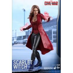 Captain America Civil War Figura Movie Masterpiece 1/6 Scarlet Witch