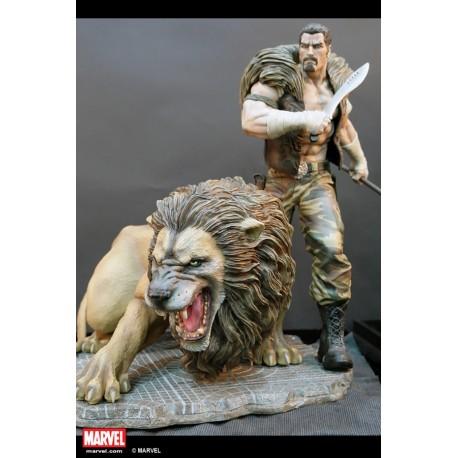 Premium Collectibles: Kraven Statue (Comics Version)
