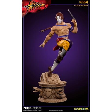 Streetfighter: Vega 1:4 Scale Statue