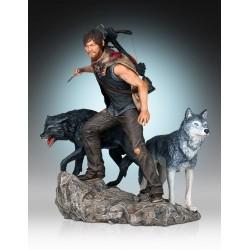 The Walking Dead Estatua 1/8 Daryl & the Wolves