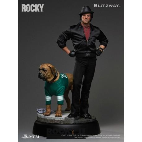 Rocky II Estatua 1/4 Hybrid Superb Scale Sylvester Stallone