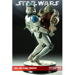 Yoda and Clone Trooper Premium Format