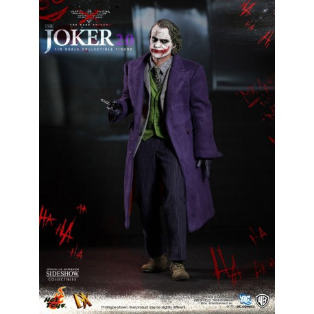 The Dark Knight Figura MMS Deluxe 1/6 The Joker + Bonus Exclusive