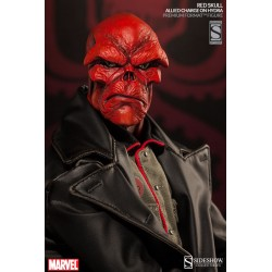 Marvel Estatua Premium Format Red Skull Allied Charge on Hydra Exclusive