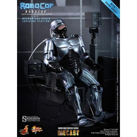 RoboCop with Mechanical Chair