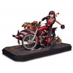Gotham City Garage Estatua Harley Quinn Deluxe