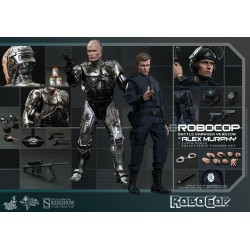 RoboCop (Battle Damaged Version) & Alex Murphy