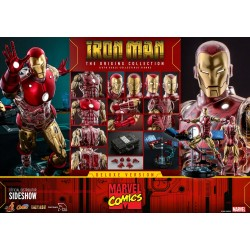 Iron Man Deluxe Version Marvel The Origins Collection Comic