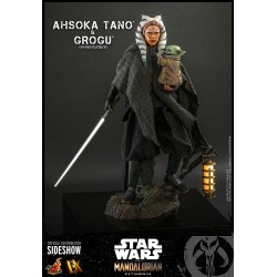 Ahsoka Tano & Grogu Star Wars The Mandalorian Pack de 2 Figuras 1/6