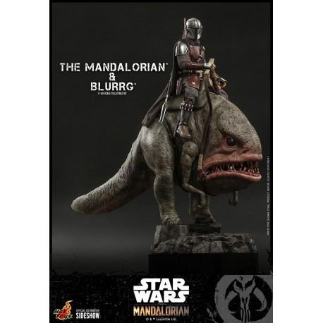 The Mandalorian & Blurrg Star Wars The Mandalorian Pack de 2 Figuras 1/6