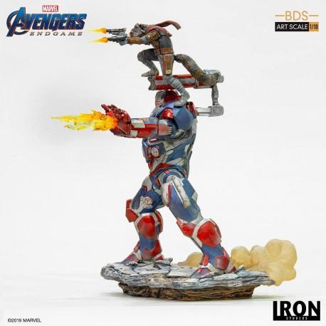 Iron Patriot & Rocket Vengadores: Endgame Estatua BDS Art Scale 1/10