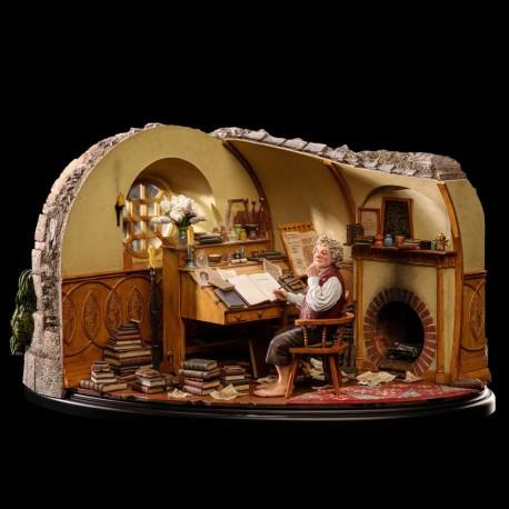 Bilbo Baggins in Bag End El Señor de los Anillos Estatua 1/6