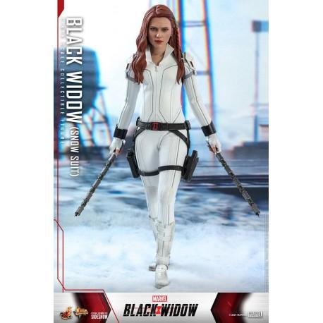 Black Widow Snow Suit Version - Black Widow Figura Movie Masterpiece 1/6