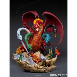 Tiamat Battle Dungeons & Dragons Estatua 1/20 Demi Art Scale