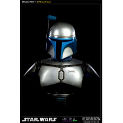 Jango Fett Life-Size Bust by Sideshow Collectibles
