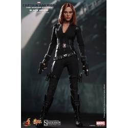 Capitán América El Soldado de Invierno Figura Movie Masterpiece 1/6 Black Widow