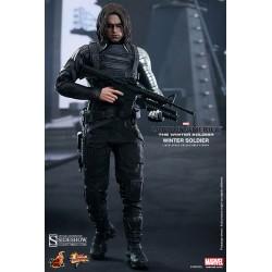 Capitán América El Soldado de Invierno Figura Movie Masterpiece 1/6 Winter Soldier