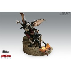 Blade VS Dracula Polystone Diorama by Sideshow Collectibles