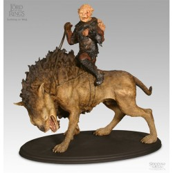 Gothmog on Warg Polystone Statue by Weta / Sideshow Collectibles
